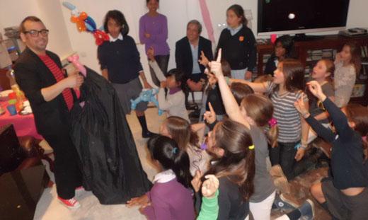 Magia en cumpleaños infantiles