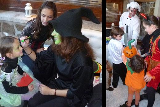 Pinta-caras y globoflexia para Halloween